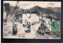 CEYLON  Tea Estate Coolie Lines 1907 Old Postcard - Sri Lanka (Ceylon)