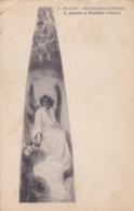 CARTOLINA - NAPOLI - S. ANTONIO A POSILLIPO - G. BOCCHETTI - MEDITAZIONE( AFFRESCO) - VIAGGIATA VOMERO VECCHIO - Napoli