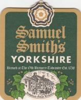 UNUSED BEERMAT - SAMUEL SMITH'S BREWERY (TADCASTER, ENGLAND) - YORKSHIRE - (Cat No 131) - (2003) - Portavasos