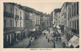 CPA - France - (34) Hérault - Lodève - Rue Du Marché - Lodeve