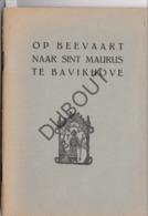 BAVIKHOVE Sint Maurus 1954  (R341) - Vecchi