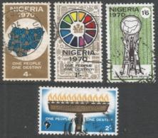 Nigeria. 1970 Stamp Of Destiny. Used Complete Set. SG 240-243 - Nigeria (1961-...)