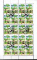 1997 San Marino Mi. 1713-4 FD-used Sheet  Europa: Sagen Und Legenden. - Europa-CEPT