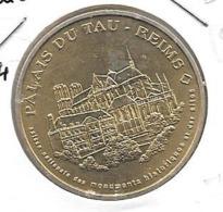 Jeton Touristique 51 Palais Du Tau  2004 - Monnaie De Paris