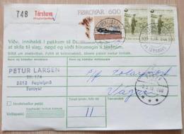Faraoe Iceland Fuglafjørdur Vagur 1979 - Färöer Inseln