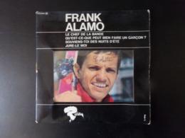 """45 T Frank Alamo """" Le Chef De La Bande, Souviens Toi Des Nuits D'été + 2 """" - Other - French Music"""
