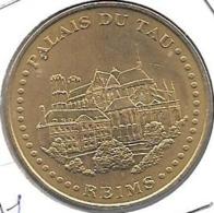 Jeton Touristique 51 Palais Du Tau  2007 - Monnaie De Paris