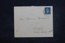 ALLEMAGNE - Enveloppe Pour Leipzig, Affranchissement Plaisant - L 44317 - Deutschland