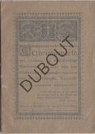 BRUGGE/DAMME Geschiedenis Christusbeeld Damme - Tanghe - Van De Vyvere-Petyt 1901  (R347) - Vecchi