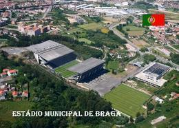 Portugal Braga Municipal Stadium New Postcard Stadion AK - Fussball