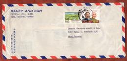Luftpost, Nationalkongress Der Kuomintang U.a., Taichung Nach Mainz 1976 (80804) - Briefe U. Dokumente