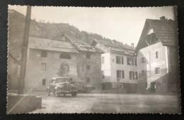 Saint Dalmas De Selvage La Place Et Le Praz/ Voiture Oldtimer - Nice