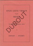MESEN/EDINGEN Onze Lieve Vrouw - Sint Niklaaskerk 1957  (R354) - Oud