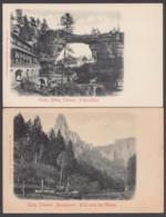 """""""Amselgrund"""" Und """"Prebischthor"""", Sächs. Schweiz, 2 Karten Um 1910 - Germany"""