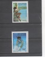 POLYNESIE Française - Vie Polynésienne : Joueur De Ukulélé, Pêcheur De Coquillages Environnement Polynésien - Polynésie Française