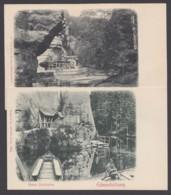 """""""Edmundsklamm"""", Sächs. Schweiz, 2 Versch. Karten, Ca. 1910 - Deutschland"""