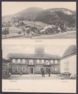 """""""Lausche"""", 2 Versch. Karten, Ca. 1910 - Deutschland"""