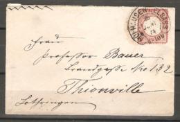 Lettre De 1874 ( Allemagne ) - Allemagne