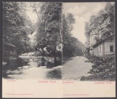 """""""Liebethaler Grund"""", Sächs. Schweiz, 2 Karten, Ca. 1910 - Allemagne"""