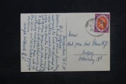 ALLEMAGNE - Affranchissement Plaisant Sur Carte Postale De Tabarz Pour Leipzig En 1927 - L 44324 - Deutschland