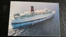 """Compagnie Tunisienne De Navigation CAR FERRY """"HABIB"""" TUNISIE - Ferries"""