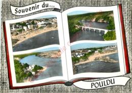 29. LE POULDU .  CP Multivues . - Le Pouldu