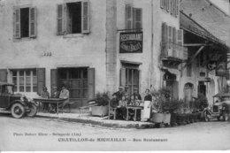 CHATILLON-de-MICHAILLE (Ain) - Son Restaurant, Gonnet-Ballet. Photo Robert Eher. Non Circulée. Bon état. 4 Scan. - Autres Communes