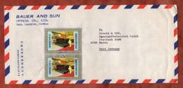 Luftpost, Todestag Chiang, Taichung Nach Mainz 1976 (80806) - Briefe U. Dokumente