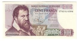 BELGIUM100FRANCS03/02/1972P134XF/AUNC.CV. - [ 2] 1831-... : Regno Del Belgio