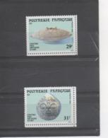 POLYNESIE Française -Artisanat - Pendentif En Nacre Perlière, Récipient à Couvercle En Bois Sculpté Des Marquises - Polynésie Française