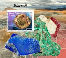 SIERRA LEONE 2019 - Minerals. S/S. Official Issue  [SL190815b] - Minerales
