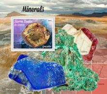 SIERRA LEONE 2019 - Minerals. S/S. Official Issue  [SL190815b] - Mineralien
