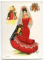 Tarjeta De Trajes Populares.2 - Sevilla