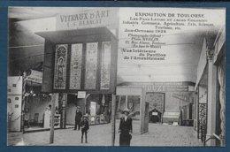 TOULOUSE - Exposition De 1924 - Vue Intérieure Du Pavillon De L'Ameublement - Toulouse