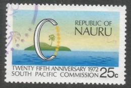 Nauru. 1972 25th Anniv Of South Pacific Commission. 25c Used. SG 97 - Nauru
