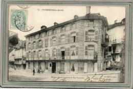CPA - PLOMBIERES-les-BAINS (88) - Aspect De La Maison Real-Cornuot Dans La Rue Stanislas En 1905 - Plombieres Les Bains