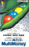 BANQUE - CB - CREDIT CARD - CARTE De CREDIT  - Télécarte Japon - Werbung