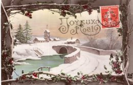 B57985 Cpa Fantaisie - Joyeux Noel - Phantasie
