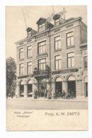 Vlissingen Hotel Albion Cafe Restaurant Briefkaart PK CPA - Vlissingen