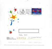 Pap Voeux Flamme Bergheim Rempart - Biglietto Postale