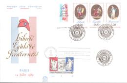 FDC N° T 2576 + USA Bicentenaire Révolution - FDC