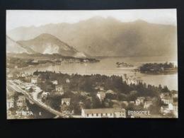 CPA Début XXEME Carte Photo Stresa E Isole Borromée - Autres Villes
