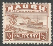 Nauru. 1924-48 Definitives. ½d MH. SG 26A - Nauru