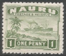 Nauru. 1924-48 Definitives. 1d MH. SG 27A - Nauru
