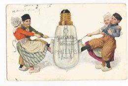 Philips Advertising Carte Postale Publicité Gebrokken Draad Briefkaart PK CPA - Werbepostkarten