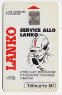 FRANCE EN1266 LANKO 50U Date 08/94 Tirage 2145 Ex - Frankreich