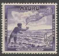 Nauru. 1954-65 Definitives. ½d MH. SG 48 - Nauru