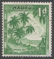 Nauru. 1954-65 Definitives. 1d MH. SG 49 - Nauru