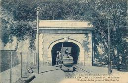 - Gard -ref- A351- La Grand Combe - Les Mines -entrée Galerie Sainte Barbe - Mine - Mineurs - Metiers - Edit. Coronel  - - La Grand-Combe