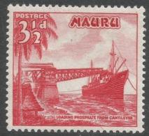 Nauru. 1954-65 Definitives. 3½d MH. SG 50 - Nauru